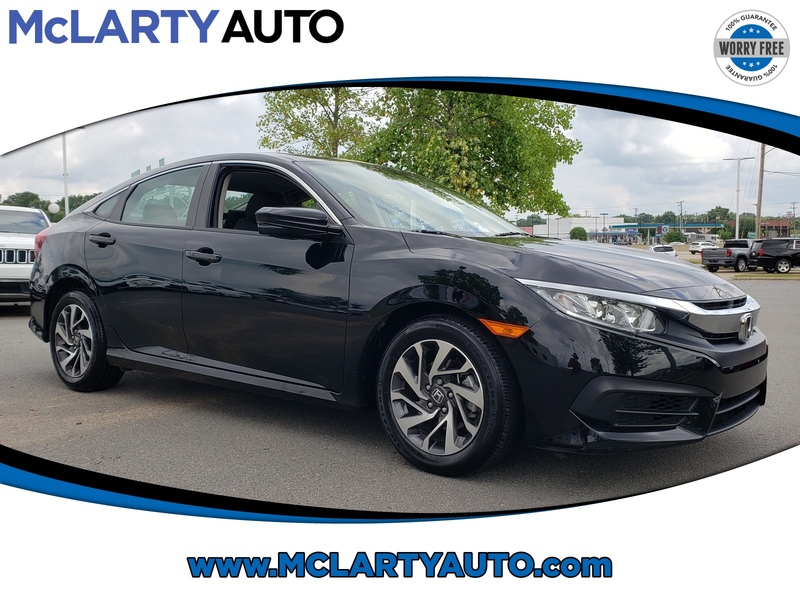 Pre-Owned 2018 Honda CIVIC EX CVT