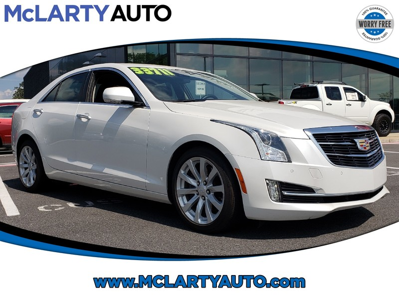 Pre-Owned 2018 CADILLAC ATS SEDAN 4DR SDN 3.6L PREMIUM LUXURY RWD