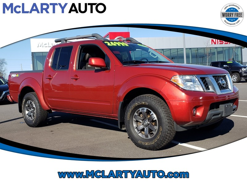 Pre-Owned 2016 NISSAN FRONTIER 4WD CREW CAB SWB AUTO PRO-4X