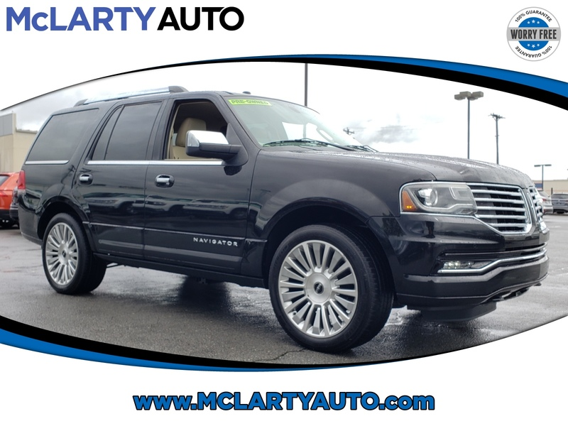 Pre-Owned 2015 LINCOLN NAVIGATOR LOADED