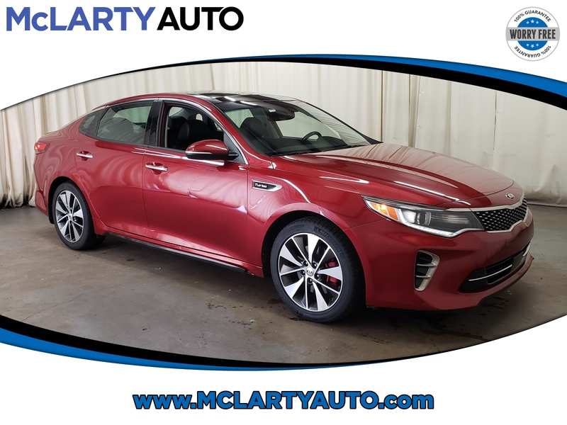Pre-Owned 2016 KIA OPTIMA SX TURBO With Navigation
