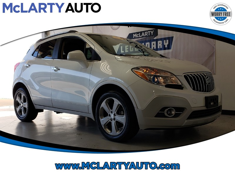 Pre-Owned 2013 BUICK ENCORE FWD 4DR LEATHER
