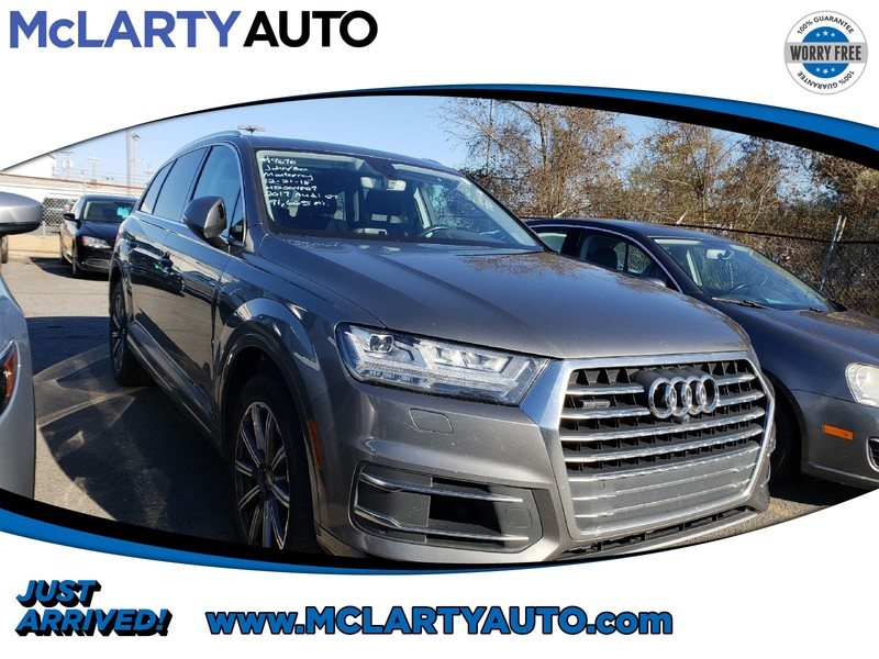 Pre Owned 2017 Audi Q7 3 0t Premium Sport Utility In North Little