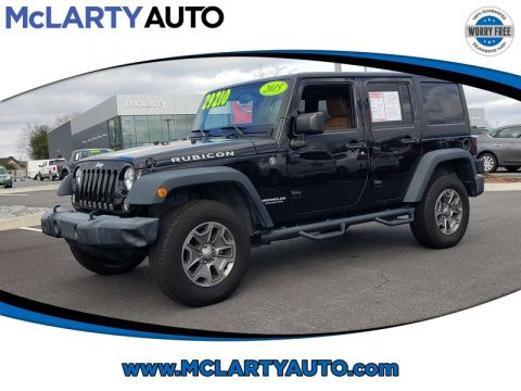 Pre-Owned 2015 JEEP WRANGLER 4WD 4DR RUBICON
