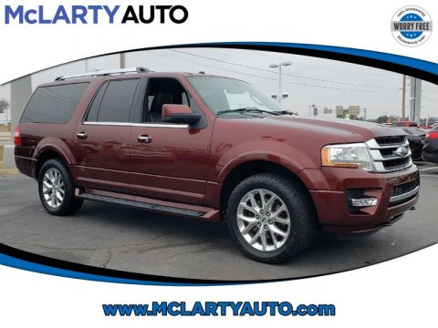 Pre-Owned 2017 FORD EXPEDITION EL LIMITED 4X4