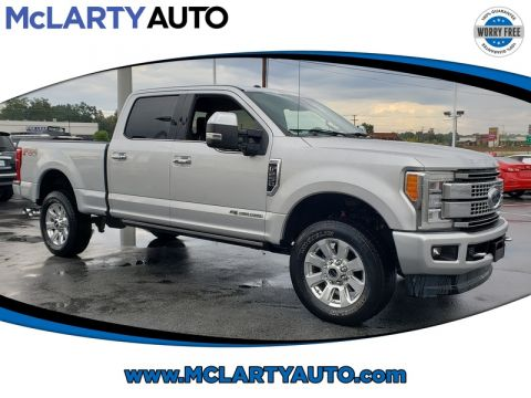 Pre-Owned 2017 FORD F-250 SUPER DUTY SRW PLATINUM