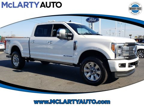 Pre-Owned 2019 FORD F-250 SUPER DUTY SRW PLATINUM
