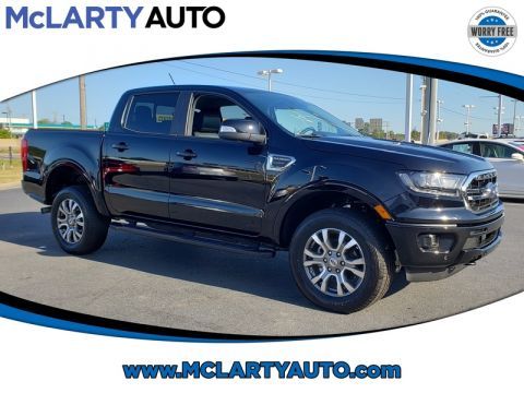 Pre-Owned 2019 FORD RANGER LARIAT 2WD SUPERCREW 5' BOX