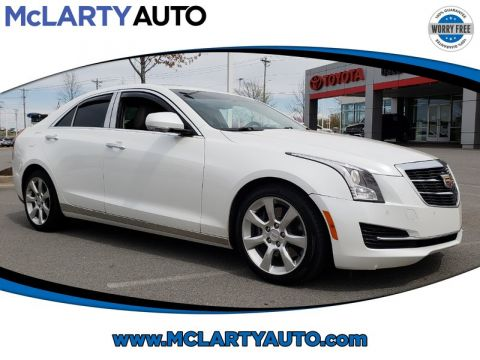 Pre-Owned 2016 CADILLAC ATS SEDAN 4DR SDN 2.0L LUXURY COLLECTION RWD