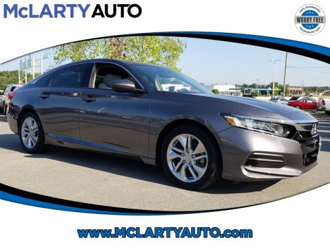 Pre-Owned 2018 Honda ACCORD SEDAN LX 1.5T CVT