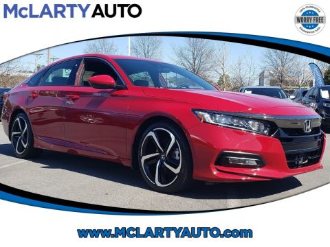 Pre-Owned 2018 Honda ACCORD SEDAN SPORT