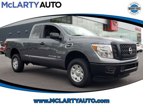 Pre-Owned 2018 NISSAN TITAN XD 4X4 GAS KING CAB S