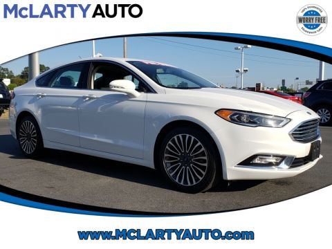Pre-Owned 2018 FORD FUSION TITANIUM AWD