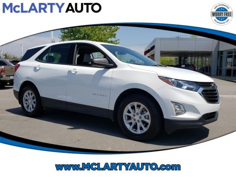 Pre-Owned 2018 CHEVROLET EQUINOX FWD 4DR LS