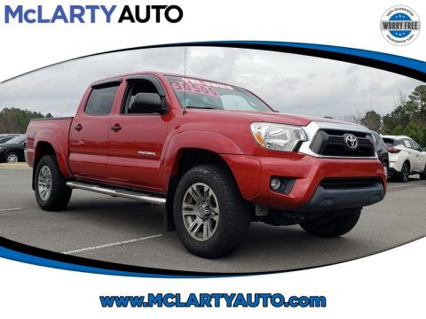 Pre-Owned 2015 TOYOTA TACOMA 4WD DOUBLE CAB V6