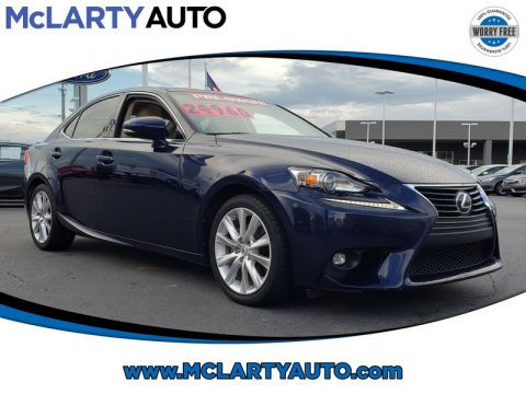 Pre-Owned 2015 LEXUS IS250 4DR SPORT SDN RWD