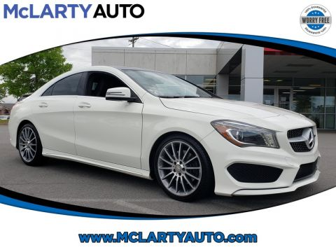 Pre-Owned 2016 MERCEDES-BENZ CLA 4DR SDN CLA 250 FWD